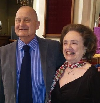Jim Reilly and Beatrice Giere