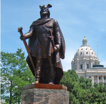 Leif Eriksson Statue at the Minnesota State Capitol